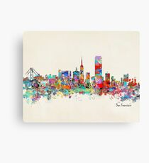 San Francisco California sklyine Canvas Print
