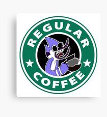 Regular Mordecai Coffee Canvas Print