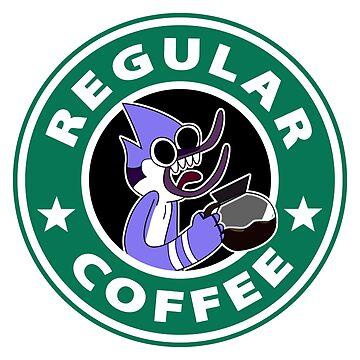 Regular Mordecai Coffee by TeeGrayWolf