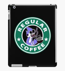 Regular Mordecai Coffee iPad Case/Skin