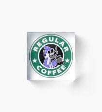 Regular Mordecai Coffee Acrylic Block