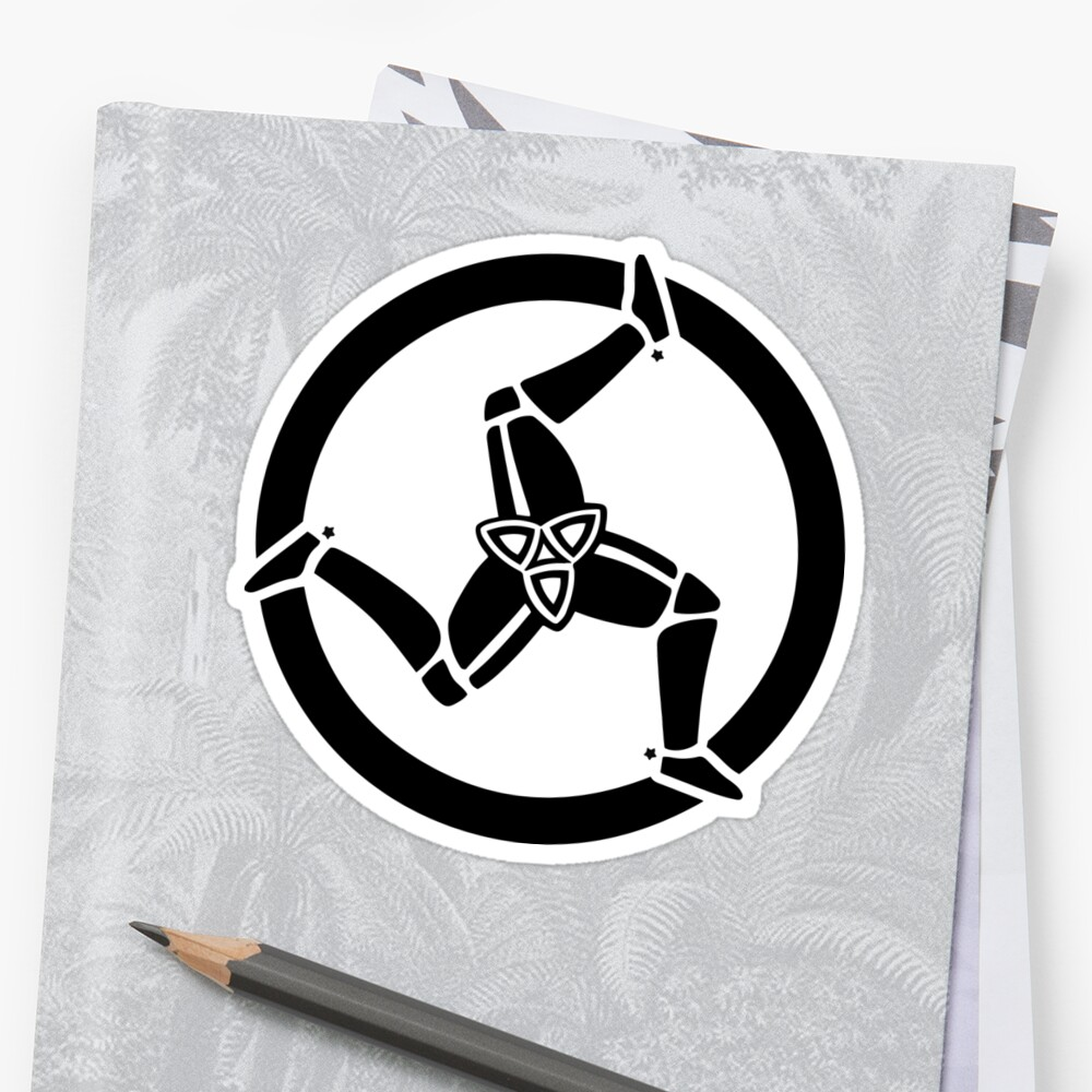 Isle of man sticker by biggeek redbubble