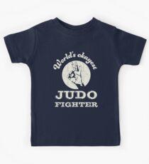 Worlds okayest judo fighter Kids Clothes