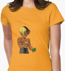 x muscle Womens Fitted T-Shirt