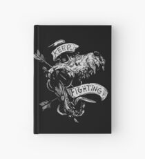 Keep Fighting  Hardcover Journal
