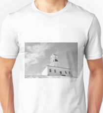 Clock Tower, Halifax. Unisex T-Shirt