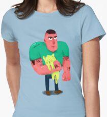 El chungo del gato Womens Fitted T-Shirt