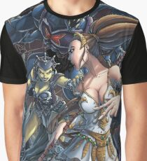Teela vs Evil Lyn Graphic T-Shirt