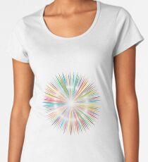 rainbow blast Women's Premium T-Shirt