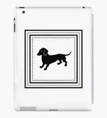 Cute Retro Dachshund iPad Case/Skin
