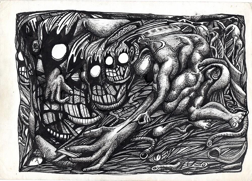 Grendel Mother Dream by Brian Benson