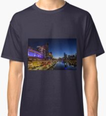 Southbank footbridge, Melbourne, Victoria, Australia. Classic T-Shirt