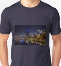 Southbank footbridge, Melbourne, Victoria, Australia Unisex T-Shirt