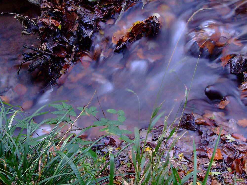 Rippling stream by mikeloughlin