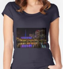 Hamer Hall South Bank, Melbourne, Victoria, Australia Women's Fitted Scoop T-Shirt