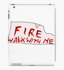 FIRE WALK WITH ME - Twin Peaks iPad Case/Skin