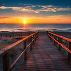 Sunrise at Arenales del Sol by Ralph Goldsmith