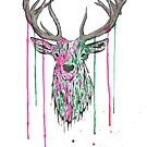 Deer 2 by Calum Margetts Illustration