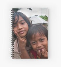 Village Girls Spiral Notebook