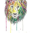 Lion by Calum Margetts Illustration