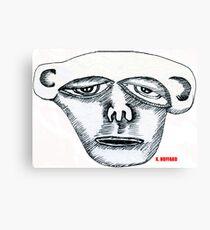 Monkey Head Canvas Print