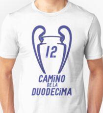 Camino de la duodecima Real Madrid T-Shirt