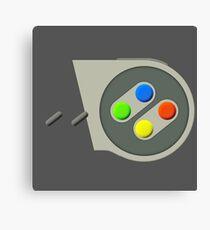SNES Buttons Canvas Print