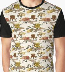 Woodlouse Wandering Graphic T-Shirt