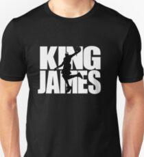 Lebron James - King James T-Shirt