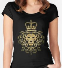 Vintage Magestic Lion Women's Fitted Scoop T-Shirt