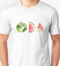 WATERMELON IN WATERCOLOR Unisex T-Shirt