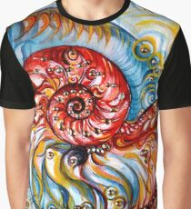 Nautilus Shell - Ocean Graphic T-Shirt