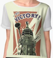 Dalek To victory Chiffon Top