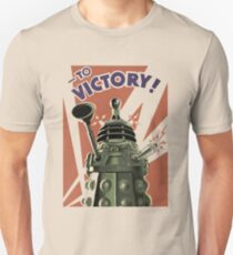 Dalek To victory Unisex T-Shirt