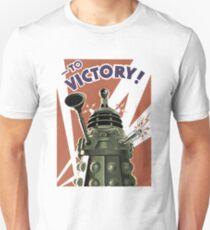 Dalek To victory Unisex T-Shirt