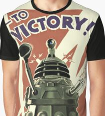 Dalek To victory Graphic T-Shirt