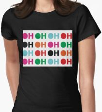 OH! Womens Fitted T-Shirt