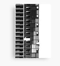 Urban Living Canvas Print
