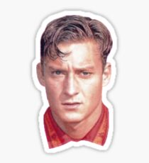 Francesco Totti légende As Roma italie squadra azurra capitaine Sticker