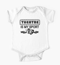Theatre is My Sport One Piece - Short Sleeve