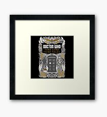 Time Lord fairy tales Framed Print
