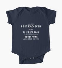 Father's Day - Best dad in 5 languages II Kids Clothes