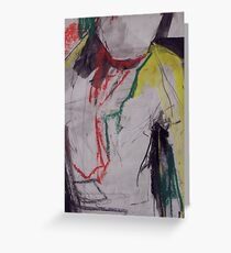abstract figure Greeting Card