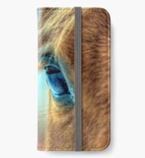 Horse Eye iPhone Wallet/Case/Skin
