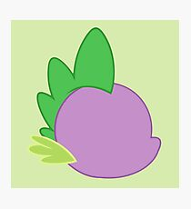 My little Pony - Spike Cutie Mark Special Photographic Print