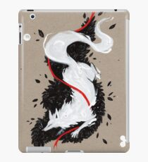 WHITE FOX RIBBONS  iPad Case/Skin