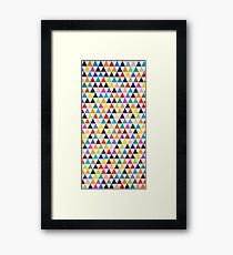 Trichromatic Framed Print