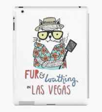 Fur & Loathing in Las Vegas iPad Case/Skin