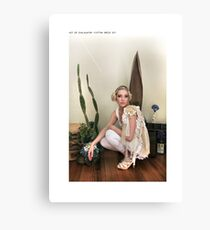 ' ast er svaldgafur '  Canvas Print