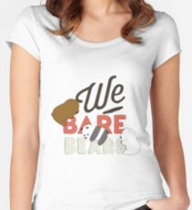 bears baby Women's Fitted Scoop T-Shirt